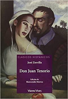libro Don Juan Tenorio josé zorrilla
