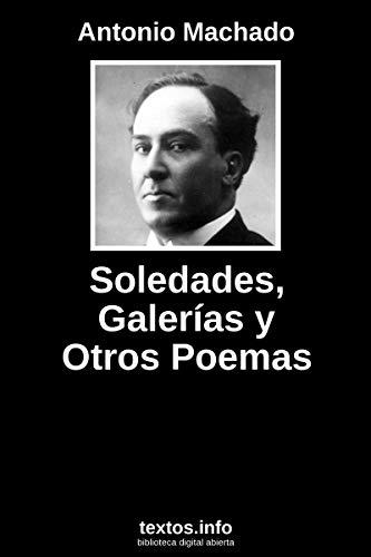 libro Soledades de Antonio Machado,